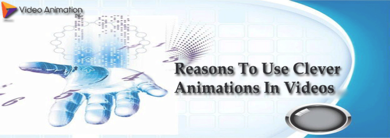 clever animation in videos